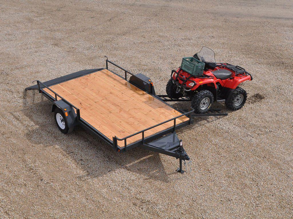 bumperpull compactutility 01 Pic C 1 1024x768 - Precision Trailer - livestock trailers for sale Alberta