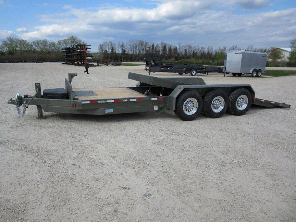 bumperpull hdtiltingdeck 03 pic F 1 1024x768 - Precision Trailer - livestock trailers for sale Alberta