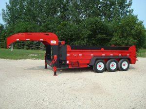 dump gooseneck 01 pic M 1 300x225 - Precision Trailer - livestock trailers for sale Alberta