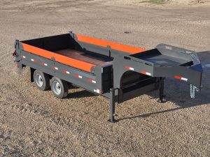 dump gooseneck 02 pic N 1 300x225 - Precision Trailer - livestock trailers for sale Alberta