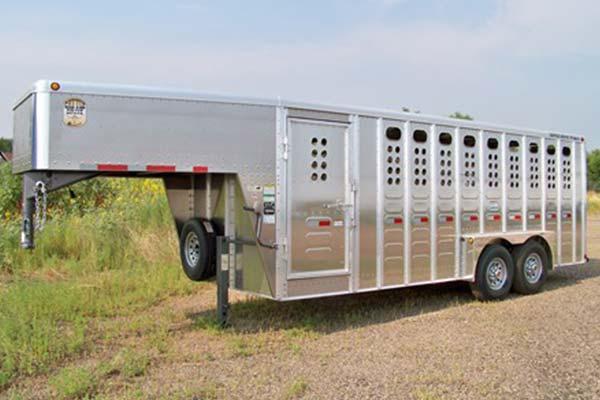 goose length 20 pic 2 - Merritt Trailer - livestock trailers for sale Alberta
